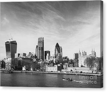 City Of London  Canvas Print by Pixel Chimp