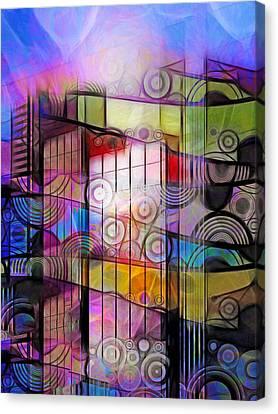 City Patterns 3 Canvas Print by Lutz Baar