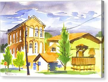 City Streets II Canvas Print by Kip DeVore