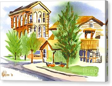 City Streets Canvas Print by Kip DeVore