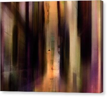 Cityscape (2) Canvas Print by Sol Marrades
