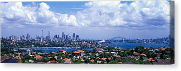 Cityscape, Harbor, Sydney, Australia Canvas Print by Panoramic Images