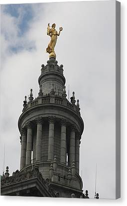 Civic Fame - Victory And Triumph Canvas Print by Vadim Levin
