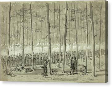 Civil War Union Army, 1864 Canvas Print by Granger