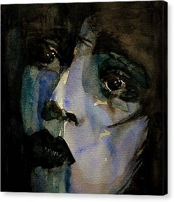 Clara Bow  Canvas Print by Paul Lovering