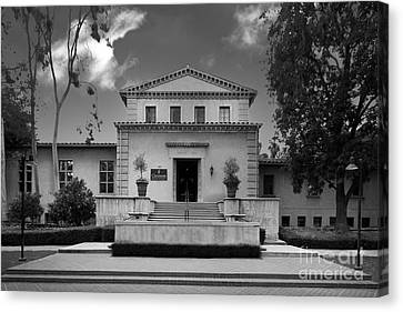 Claremont Graduate University Harper Hall Canvas Print by University Icons