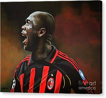 Clarence Seedorf Canvas Print by Paul Meijering