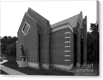 Clarke University Sacred Heart Chapel Canvas Print by University Icons