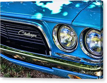 Classic 1974 Dodge Challenger Canvas Print by Paul Ward