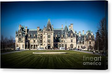 Classic Biltmore Canvas Print by Perry Webster
