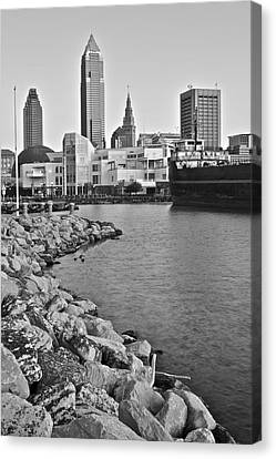 Classic Black And White Canvas Print by Frozen in Time Fine Art Photography
