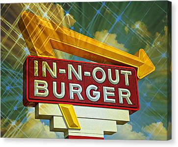 Classic Cali Burger 2.3 Canvas Print by Stephen Stookey