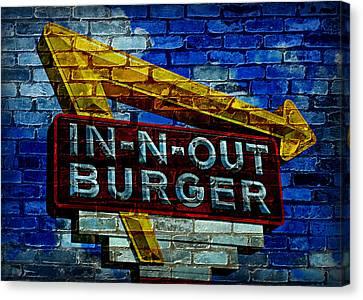 Classic Cali Burger 2.4 Canvas Print by Stephen Stookey