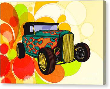 Classic Cars 09 Canvas Print by Bedros Awak