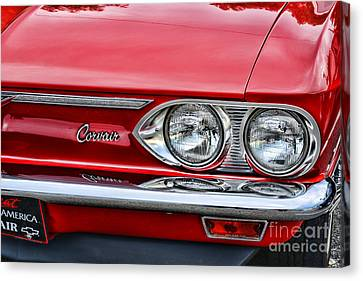Classic Corvair Canvas Print by Paul Ward