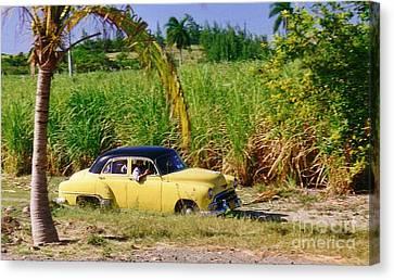Classic Cuba Canvas Print by Halifax Photographer John Malone