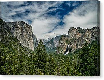 Classic Tunnel View Canvas Print by Cat Connor