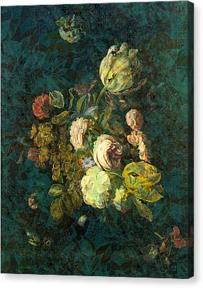 Classical Bouquet - S04bt01 Canvas Print by Variance Collections