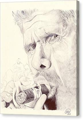 Clay Morrow Canvas Print by Kyle Willis