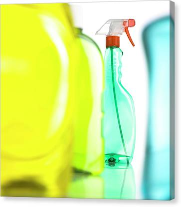 Cleaning Products Canvas Print by Science Photo Library