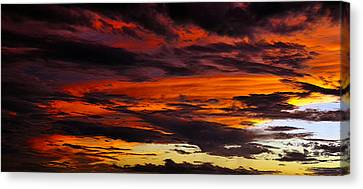 Clearing Sky Canvas Print by David Lee Thompson
