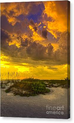 Clearing Skies Canvas Print by Marvin Spates