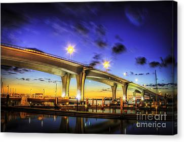 Clearwater Bridge Canvas Print by Marvin Spates