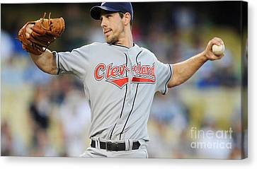 Cliff Lee Canvas Print by Marvin Blaine