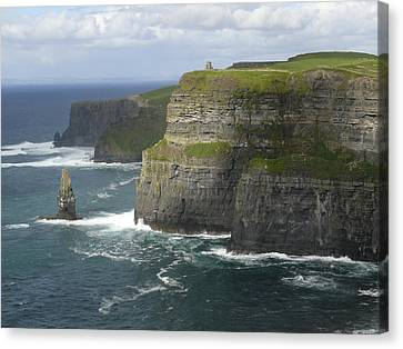 Cliffs Of Moher 2 Canvas Print by Mike McGlothlen
