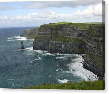 Cliffs Of Moher 3 Canvas Print by Mike McGlothlen