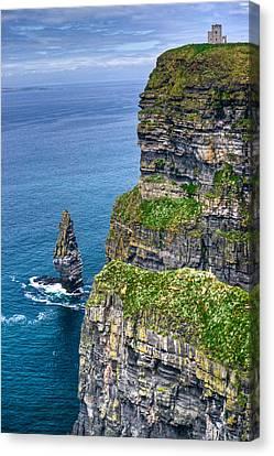 Cliffs Of Moher 41 Canvas Print by Douglas Barnett