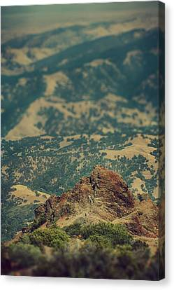 Climb Canvas Print by Laurie Search