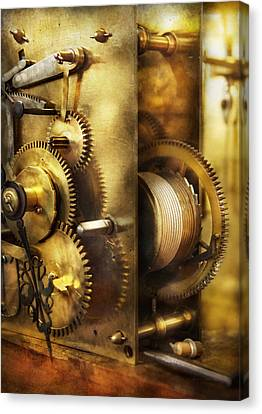 Clockmaker - We All Mesh Canvas Print by Mike Savad