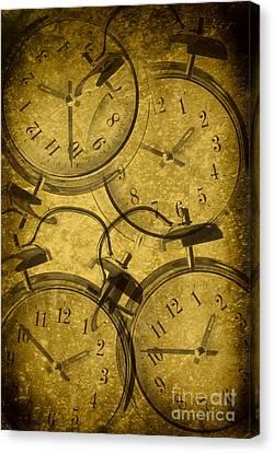 Clocks Canvas Print by Amanda Elwell