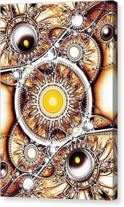 Clockwork Canvas Print by Anastasiya Malakhova