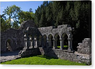 Cloisters In The Augustinian 12th Canvas Print by Panoramic Images