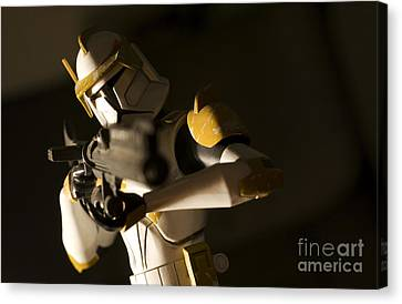 Clone Trooper 1 Canvas Print by Micah May