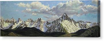 Colorado Rockies Canvas Print by Dan Fusco