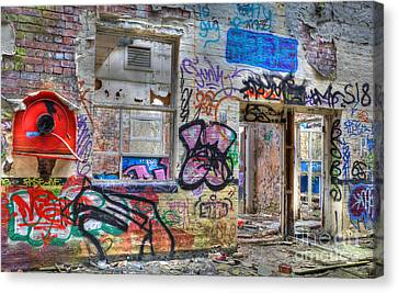 Closed For Business Canvas Print by David Birchall