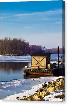 Closed For The Season Canvas Print by Christi Kraft