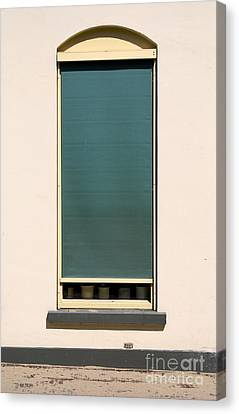 Closed Window Canvas Print by Dirk Dzimirsky