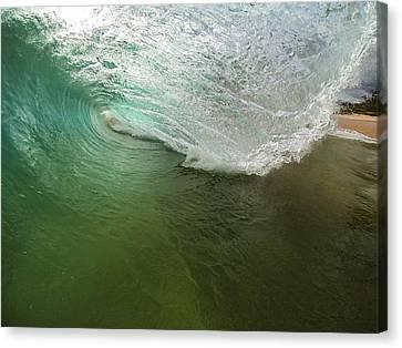 Closeout Wave Canvas Print by Brad Scott