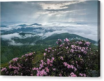 Cloud-scaped Layers Canvas Print by Rob Travis