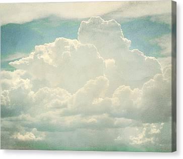 Cloud Series 2 Of 6 Canvas Print by Brett Pfister