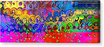 Cloudburst Canvas Print by Wendy J St Christopher