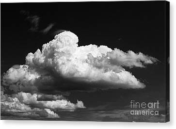 Clouds Over The Palouse Canvas Print by Ron Roberts