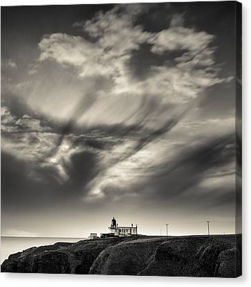 Clouds Over Tod Head Canvas Print by Dave Bowman