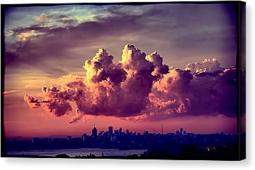 Clouds Rolling Canvas Print by Andrei SKY