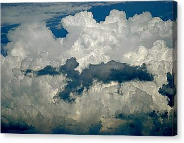 Cloudy Enterprise Canvas Print by Marc Levine