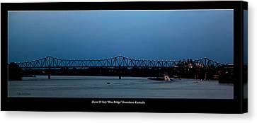 Clover H Cary Bridge Canvas Print by David Lester